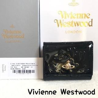 ヴィヴィアンウエストウッド 財布 正規品 新品 二つ折り財布 エ...