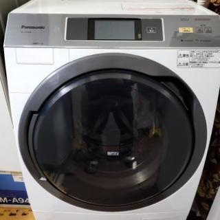 Panasonicドラム洗濯機 スマホ連動 タッチパネル 10k...