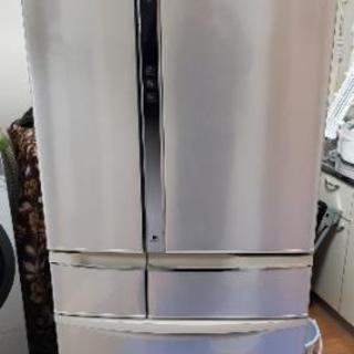 Panasonic冷蔵庫 大型 エコナビ搭載 451L 東京 神...