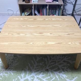 【美品】ローテーブル 高機能コタツ【布団付】