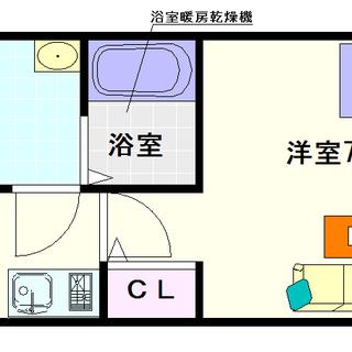 【ラシーヌ日本橋】4号タイプ!1Kタイプ!光熱費が節約できるんちゃう?