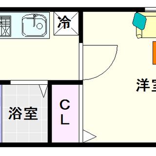 【レジェンドール日本橋東】4号タイプ!1Kタイプ!独立洗面台はいるよね!の画像