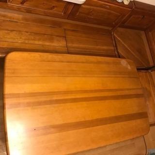 再投稿です!ダイニングテーブルセット!収納たっぷり