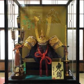 隆和堂の五月人形(オルゴール付き)