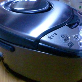 《閲覧ありがとうございましたお渡し先が決まりました》三菱 NJ-KS06-T IHジャー炊飯器 スモークブラウン 3.5合炊き (背面一部プラ割れあり) - 大網白里市
