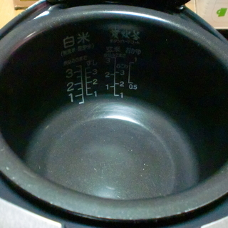 《閲覧ありがとうございましたお渡し先が決まりました》三菱 NJ-KS06-T IHジャー炊飯器 スモークブラウン 3.5合炊き (背面一部プラ割れあり) - 売ります・あげます