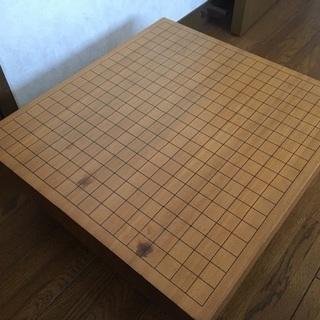 囲碁の碁盤セット(足付き19路盤)