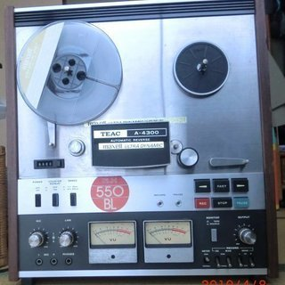 TEAC A4300 オープンリールテープデッキ