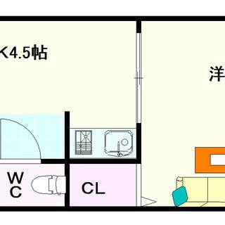 【エクセル難波】6号タイプ!1DKタイプ!難波に歩いて行けるで!