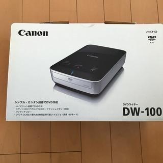 【値下げしました】キャノン Canon DVDライター DW-100