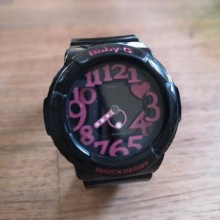 CASIO Baby-G ブラック時計