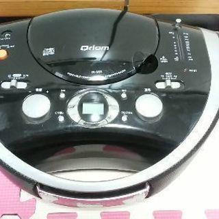 CDラジオプレーヤー ポータブル