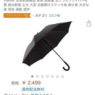 長傘 超軽量 全グラスファイバー材質 Amazon購入