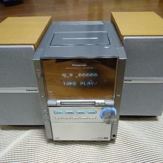 パナソニックCD MDコンポ Panasonic ステレオシステム