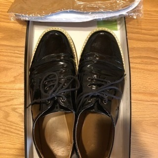 レイジブルーの靴  Lサイズ