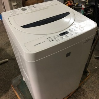 2016年製シャープ全自動電気洗濯機ES-G4E3-KW