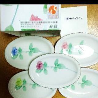 ✴️新品✴️香蘭社 ローズガーデン 銘々皿