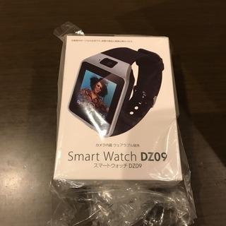 新品 スマートウォッチ  DZ09 カメラ内蔵 ウェアラブル端末