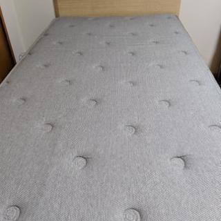 シングルベッド フレーム付き デュアルポケットマットレス