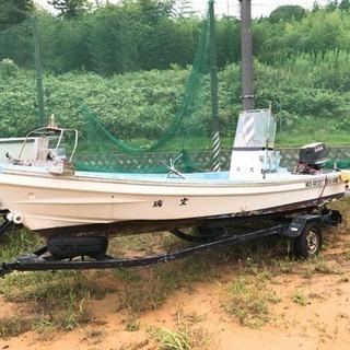 スズキ40馬力和船 魚探付き ケロシンモデル