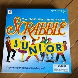 scrabble junior ボードゲーム