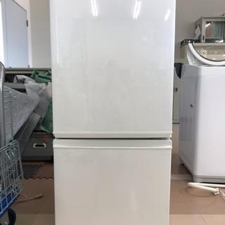 シャープ 冷蔵庫 SJ-D14B-W