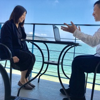 【週2回レッスン】アメリカ大学卒TOEIC970点の英語のプロが福岡の海辺から全力でオンラインで英語を教えます【月謝12000円】 - 英語