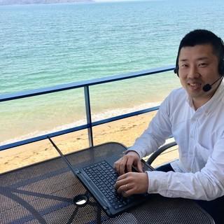【週2回レッスン】アメリカ大学卒TOEIC970点の英語のプロが福岡の海辺から全力でオンラインで英語を教えます【月謝12000円】 - 福岡市