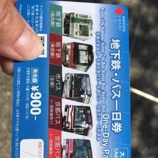 京都地下鉄・バス1日券