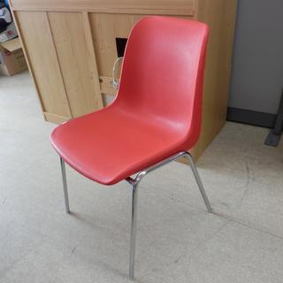 椅子 HELENチェア イタリア製 スタッキング  レッド オフ...