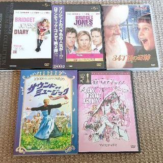 DVD 洋画 5枚