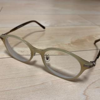 値下げしました❗️Zoffの度付きメガネ ケース付き
