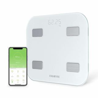 体重・体組成計 Bluetooth USB充電式体重計 スマホ簡...