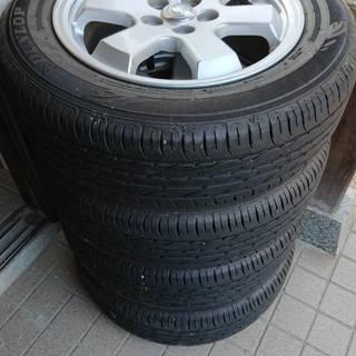 185/65R15  20プリウス純正ホイール付サマータイヤ4本