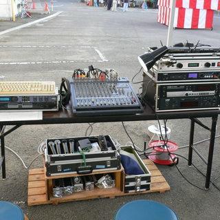 音響機材(簡易 小規模用)貸出し 配達仕込み (他店対抗価格です)