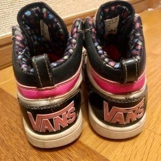 vans19センチ子供靴 可愛い