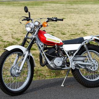 希少 ヤマハ Trial TY125 1975年 レストア タイ...