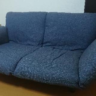 デニムのソファ