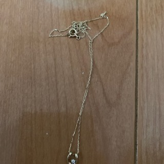 10k ダイヤモンド ネックレスの画像