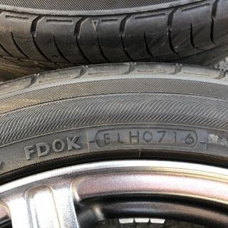値下げしました!215/45R17タイヤ付き美品ホイール4本セット! − 長崎県