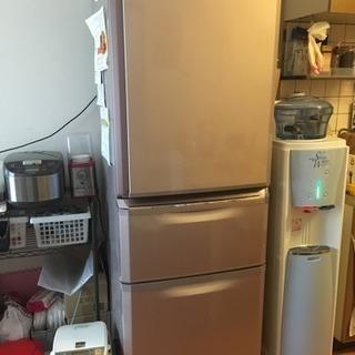 3ドア冷蔵冷凍庫 製氷機付!