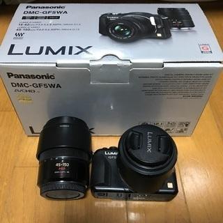 ミラーレス一眼 Panasonic LUMIX GF5 ダブルズ...