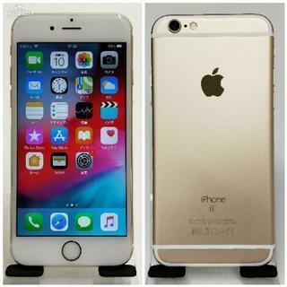 SIMフリー iPhone 6s 64GB Gold バッテリー...