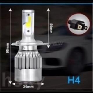LED ヘッドライト 16000ルーメン 爆光 H4