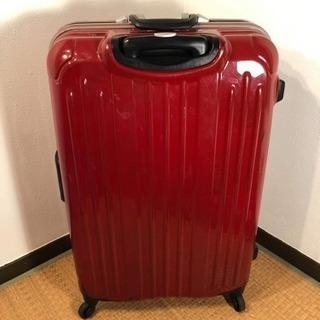 軽量スーツケース 赤