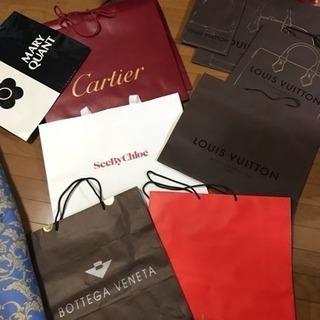 紙袋 ショップ袋 - 靴/バッグ