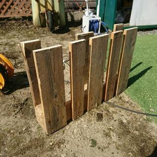 パレットの端材 廃材 木材 DIY