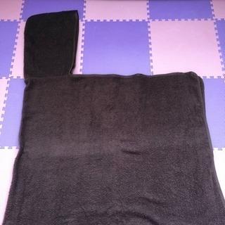 【値下げ】フード付き バスタオル  茶色