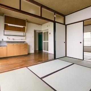 【初期費用は家賃のみ】米子市大崎、リフォーム済みの広い3DKです【...