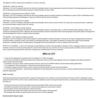 English Teacher School Kagoshima- オーストラリア政府認定の Certificate Ⅳ in TESOL - Kagoshima - Online − 鹿児島県
